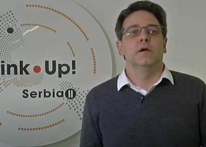 "Das Projekt Link Up! Serbia II in der RTS-Sendung ""Srbija na vezi"""