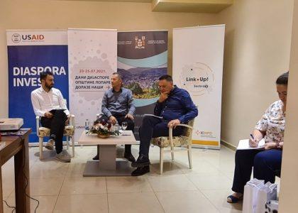 Das Projekt Link Up! Serbia II bei den Diaspora-Tagen in der Gemeinde Lopare